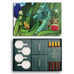 端午节商务礼盒 筷粽端午礼盒 禧福端午节庆套装