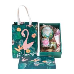 【Flamingo】网红火烈鸟花茶组合 蜜桃乌龙 蜂蜜 玫瑰花茶 水果茶 活动伴手礼
