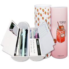 創意多功能網紅筆盒收納盒 內置計算器+鏡子+白板 學生獎品清單