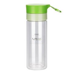菲驰(VENES)高硼硅双层玻璃水杯300ML双层隔热水杯 送什么礼品给客户