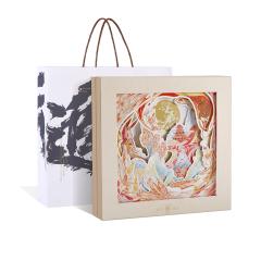 【会发光的月饼盒】攀云追月中秋礼盒 国潮设计中国风月饼礼盒 中秋创意礼品