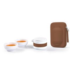 【华灯】高端礼品套装陶瓷礼品 高档送礼套装 格物华灯旅行茶具