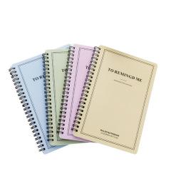 记事本环保优质纸质 清新简约笔记本  A5螺旋装订本办公学生用品 商务礼品记事本
