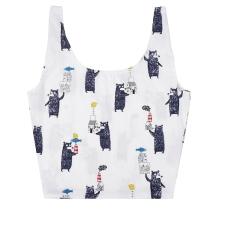 手提购物袋手拎包 简单的背心式设计优质棉麻布料 精美礼品有哪些