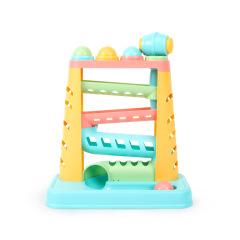 贝恩施(beiens)儿童彩色轨道敲敲乐手眼协调敲击球益智玩具 儿童服饰活动赠品