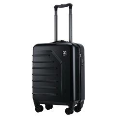 瑞士维氏 Victorinox 斯派克系列20寸黑色 展开式带轮直立拉杆箱 登机箱 旅行箱