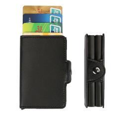 实用多功能卡包零钱包名片包 防磁金属名片盒银行卡包 展会送什么小礼品好