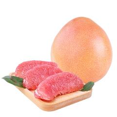【京东伙伴计划—仅限积分兑换】京觅 精选特级三红蜜柚 红心柚子4粒装 净重约5-6kg
