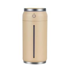 创意可乐罐加湿器 家用桌面迷你空气加湿器 定制logo礼品 银行开业礼品