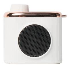 记忆小音箱USB充电便携音响 马克图布小巧相机造型蓝牙音响 创意礼品定制 企业演讲比赛奖品