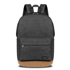 纯色耐磨双肩背包 简约休闲背包 男女户外运动背包16寸电脑包 最实用小礼品