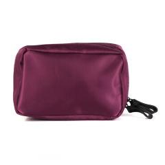 尼龙简约化妆包  时尚多格局立体 便携男女数码收纳包  奖励小礼品 活动赠品