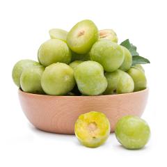 【京东伙伴计划—仅限积分兑换】四川青脆李 李子 1kg装 新鲜水果