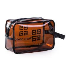 【中号】PVC透明化妆包 防水旅行收纳包 手提便携洗漱包 小礼品有哪些
