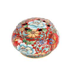 【颐和园】景泰蓝香薰盒  复古中国风 伴手礼物