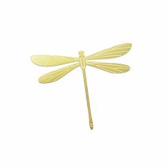 金蜻蜓黄铜小书签  复古典雅 中国风特色文具