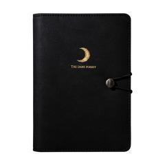 2019款純黑系列筆記本 黑暗森林活頁本 創意商務禮品