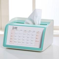2020年创意纸巾盒日历台历 大型展会礼品