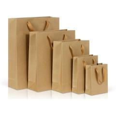 現貨紙袋 牛皮紙袋 手提袋 包裝袋 通用禮品紙袋 廣告袋紙袋定制  禮品袋 禮袋