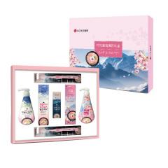 LG健康生活 竹盐凝润清新礼盒7件套 日用品礼盒 公司周年庆送员工礼物