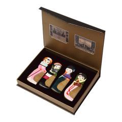 【四個女孩】白象梳篦 創意設計 旅游紀念品