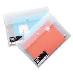 创意文具 一个地球横式按扣文件袋 资料袋 奖励员工的礼品