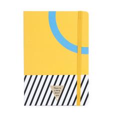 流行元素硬皮记事本 糖果色A5精装本 创意商务礼品