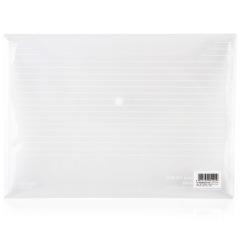 得力(deli)透明商务防水公文袋 文件袋 资料袋 又大又便宜的活动礼品