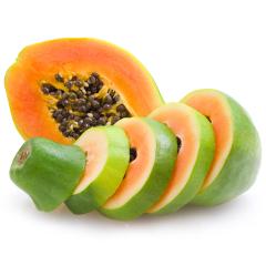 【京东伙伴计划—仅限积分兑换】海南精选红心木瓜 2个装 单果重约800-1000g