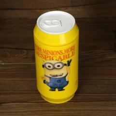 小黄人易拉罐自动搅拌杯 水杯--双眼