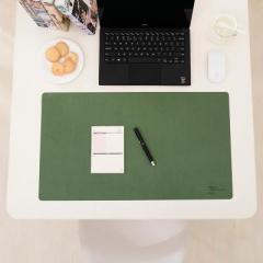 纳彩简约防水防滑办公桌垫--深绿色 招商会小礼品