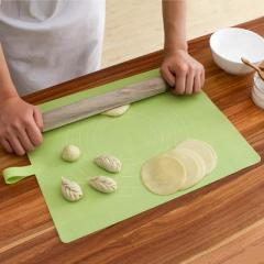 厨房烘焙硅胶揉面垫--绿色