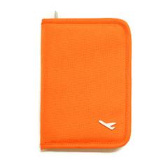 韩版短款旅行收纳 随身多功能卡包 护照包-橙色