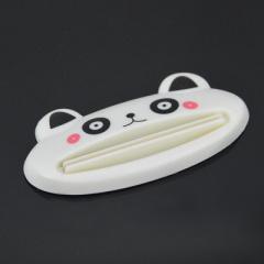 趣味动物创意牙膏挤压器-白色熊猫 实惠礼品