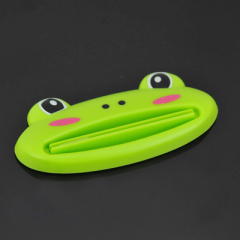 趣味動物創意牙膏擠壓器-青蛙