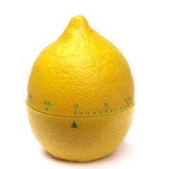 创意逼真柠檬厨房定时器