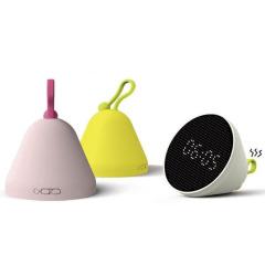 【黑科技】FUN FUN重力感应温度湿度闹钟翻翻灯 四合一创意智能礼品
