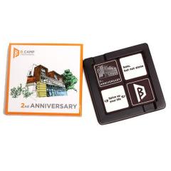 高端巧克力礼盒定制 3D立体浮雕巧克力32g 公司礼品定制 公司生日礼品