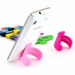 韩版缤纷色U形手机支架