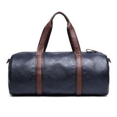 新款休闲手提包 单肩包行李包圆筒包 男士健身包训练男包运动旅行包 个人实用性的小礼品 运动会奖品发什么好