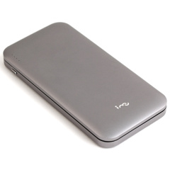 幻響(i-mu) 10000毫安超薄充電寶雙USB三端口快充移動電源刀鋒8 商務禮品