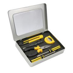 7合1泰克家用工具组合套装 汽车保险五金工具铁盒装 活动小礼品有哪些