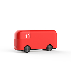 超可爱伦敦小巴士充电宝 迷你便携大容量汽车造型移动电源 10000毫安