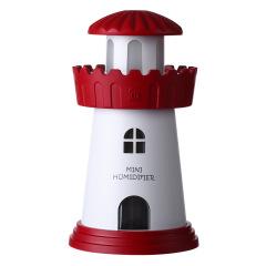 时尚创意灯塔造型加湿器 夜灯设计 大雾量  趣味活动奖品 创意小礼品