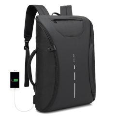创意一片式双肩背包 USB充电双肩包 防水户外旅行休闲背包 14寸电脑包