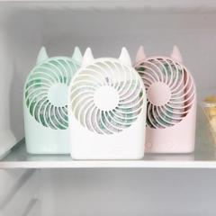沃姆猫耳形冰箱除臭剂 除甲醛异味竹炭包--粉色