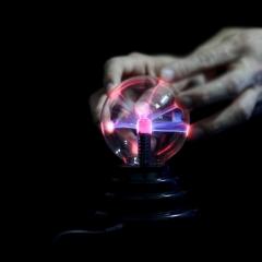 创意新奇触摸发光球 创意桌面摆件  创意科技礼品 中秋节创意礼品