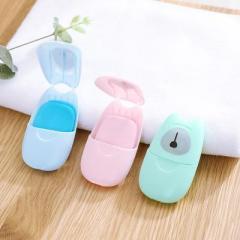 便携清洁卫生洗手香皂纸 50片装--绿色 酒店开业送什么礼品