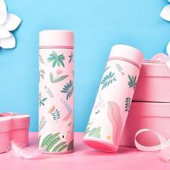 梦幻童话独角兽不锈钢真空保温杯 保冷杯 500ml--粉色
