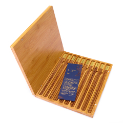 【家宴】 精品私人定制礼品实木筷子10双装礼盒 实用礼品大全